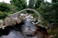 Old Packhorse Bridge, Carrbridge, Highlands - August 2012