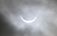 Solar eclipse - East Ayton - March 2015