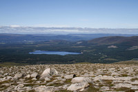 Cairn Gorm (looking back towards Aviemore & Loch Morlich) - August 2012