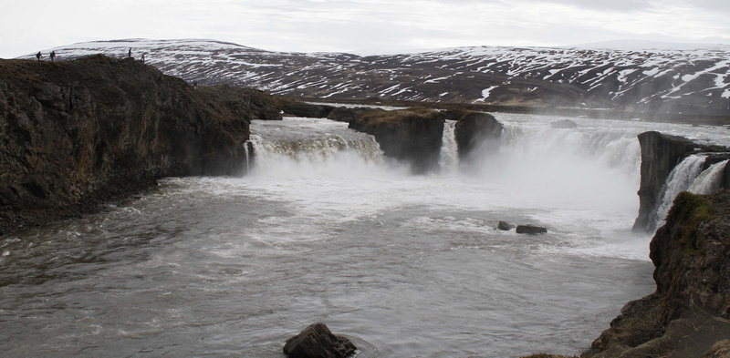 Goðafoss, Iceland - May 2013