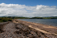 Chanonry Point, Black Isle - view back to Rosemarkie - August 2012