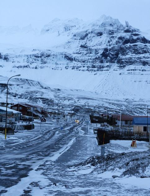 Grundarfjörður, Iceland - February 2014