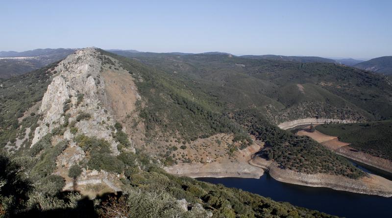 Pena Falcon, Monfrague, Extremadura - April 2012