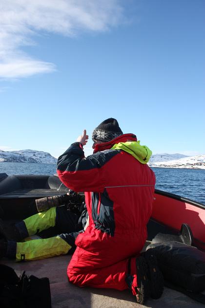 Båtsfjord, Norway - March 2016