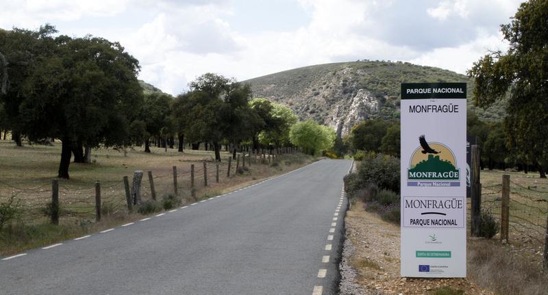Portilla del Tietar, Monfrague, Extremadura - April 2012