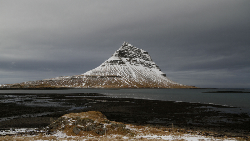 Kirkjufell (Church Mountain), Iceland - February 2014