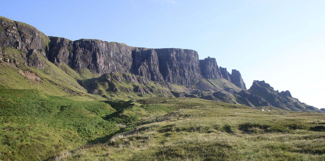 The Quiraing, Isle of Skye - July 2017